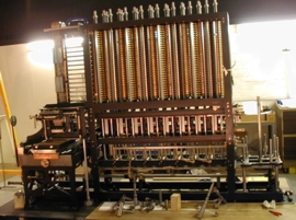 Diference Engine, Charles Babbage, Ada Lovelace