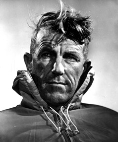 Edmund Hillary, yeti, kryptozoologie, Mt. Everest
